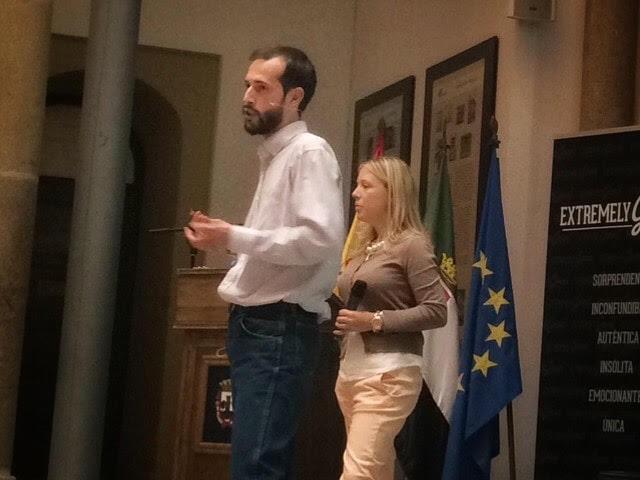 Pedro Ramírez durante la conferencia de Blogger a Emprendedor